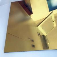 Buy cheap Thickness 0.3mm Aluminium Mirror Sheet 87% Reflective Data For Lighting Industry from wholesalers