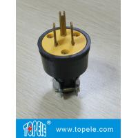 3pins 125V WS U44A South American Plug and Socket GFCI Receptacles with OEM / ODM Manufactures