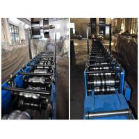 Urethane Drive Half Round Gutter Roll Forming Machines For Copper, Aluminum Manufactures