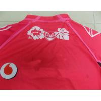 Polyester Interlock Red Rugby Wear sublimated jerseys for Women , Men Manufactures