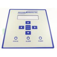 Embossed Tactile Button Warterrpoof Membrane Switch With 3M Adhesive Manufactures