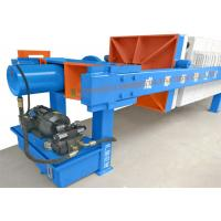 China Waste water treatment chamber type PP plate filter press for sale , Automatic press filter with pp plates on sale