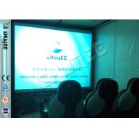 Quality Convenient Moving Cabin 6D Motion Theater With Dynamic 9 Seatings for sale