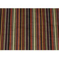Printing Stripe 100% Cotton Upholstery Fabric Corduroy For Shirt Manufactures