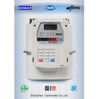 Mobile Payment M-PESA Prepaid Gas Meter 5 Year Above Battery Life Manufactures