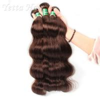 Healthy Dyeable 7A  Virgin  Hair Bundles Full Ends No Foul Odor Manufactures
