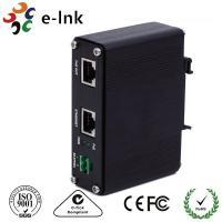 Aluminum Case Passive Power Over Ethernet Injector 10/100M 12VDC 2A 24W Power Input Manufactures