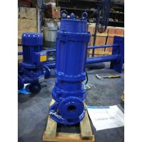 1.1kw Commercial Submersible Dirty Water Pump , Automatic Electric Water Pump Black Manufactures