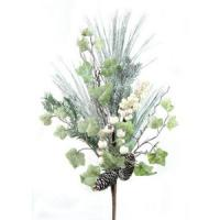 artificial pine L branch for home decoration Manufactures