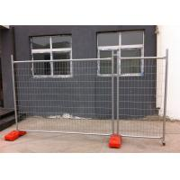 Cheap Temporary Fencing panels for sale price 2100mm x 2400mm OD 32 x 1.40mm light duty 14 microns zinc Manufactures