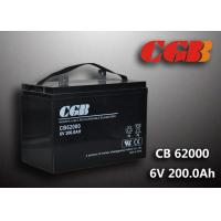 CB62000 6v Deep Cycle Battery 200ah Power Energy Solar Wind Lead Acid Sealed Batteries Manufactures
