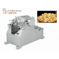Industrial 304 Stainless Steel Popcorn Machine LPG Or Electricity Heating In Low Energy Consumption Manufactures