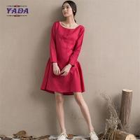 China Girls one piece pattern designs latest fashion ladies dresses casual dress in cheap price on sale