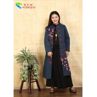 Fashion Chinese Style Embroidered Winter Coats Comfortable With Long Sleeve Manufactures