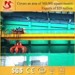 Double girder grab bucket crane manufacture gantry crane for sale Manufactures