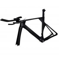 Full Carbon Fiber Track Bike Frame UD Matt TT Time Trial 50 52 54 56cm BSA / BB30 Manufactures