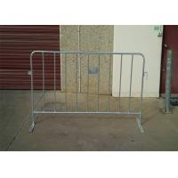 China 1.1mtrs x 2.3mtrs pedestrian barriers on sale