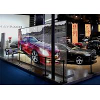 Quality Stability HD Glass LED Screen Transparent , Clear LED Display Fanless Design for sale