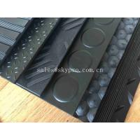 China Electrical Insulation Rubber Mats Anti - Static With REACH ROHS SGS Certificate on sale