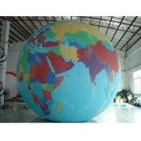 Quality Party Inflatable Advertising Products Big Led Earth Lighting Ball for sale