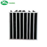Multi Pocket Activated Carbon Air Filter Bag Structure For Air Filtration Manufactures