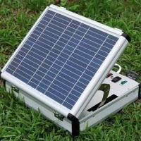 Universal Solar Charging Case for Emergency Power Backup and Outdoor Activity