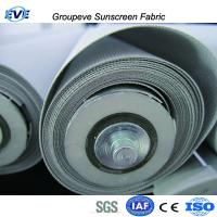 30% Polyester 70%Pvc Sunscreen Fabric for Solar Screen Window Roller Blinds and Shades Manufactures