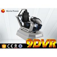 Interactive Bullet Design VR Racing Car 9D Action Cinema For Shopping Mall Manufactures