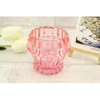 Fashion Colorful Glass Candle Holder Manufactures