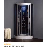China Low Entrance Commercial Steam Room Equipment / Anti Slip Steam Shower Bath Cabin on sale