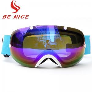 Buy cheap Three Layer Foam Ski Snowboard Goggles , Womens Otg Ski Goggles FDA Certificate from wholesalers