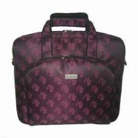 Laptop Bag with Notebook Inner Sleeve, Made of Nylon Manufactures