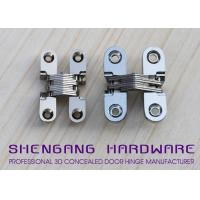 Door Hardware Invisible Stainless Steel Hinges With Satin Chrome Finish Manufactures