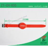 Buy cheap RFID Soft PVC wristband tag (Watch Band Clasps, Product model: ZT-CH-035) from wholesalers
