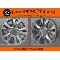 China OEM 17 inch Hyper Silve toyota aluminum rims for Land Cruiser , 16 x 8 off road wheels on sale