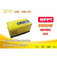Hi Tech Pure Sine Wave Solar Inverter For Home , Solar Inverter Mppt Manufactures