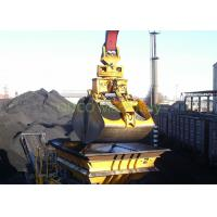Hydraulic Coal Clamshell Grab Bucket 9.5 T Vessel Crane Handling Equipment Manufactures