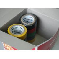 0.185mm Thicknes Submarine Cable PVC Electrical Tape For Insulat Joints Manufactures