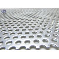 Round Hole Galvanized Perforated Metal Mesh Sheet 1mm Thickness Manufactures