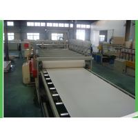 Conical PVC Sheet Extruder , Hydraulic Driving Plastic Film Extruder Machine Manufactures