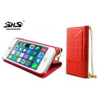 Apple iphone Protective Cases The Crocodile Grain Handbag Design Wallet Case for iPhone 5 / 5S Manufactures