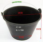8L Rubber Feed Bucket ,Rubber Tank,Rubber Pail Manufactures