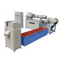 80 R/Min Rotation Speed PP Woven Bag Production Line Recycling Granulator Automatic Heating Control Manufactures