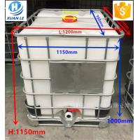 Poly used plastic ibc tank container tote 1000l with steel cage Manufactures