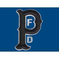 China 3D Puff embroidery digitizing PFD WBC9C06 with color White,Med. Blue designs on sale