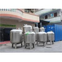 Stainless Steel Filter Unit For Spirit Liquor Wine Filter Housing RO Tank Manufactures