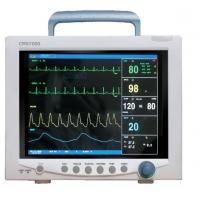 Touch Screen 12.1 inches TFT LCD Cardiac Monitor CMS7000 Plus with 6 parameters for ICU Manufactures