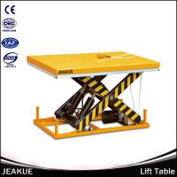4 Ton AC Power High Quality Automatic Lifting Mini Scissor Hydraulic Lift Table Manufactures