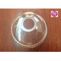 4oz Transparent BOPS Clear Dome Lids  A Hole For Ice Cream Cup Manufactures