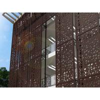 CNC Punching Perforated Metal Panels for Architectural Ornament Manufactures